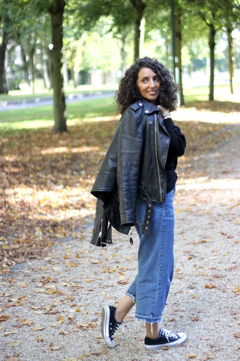 comment porter le jeans culotte
