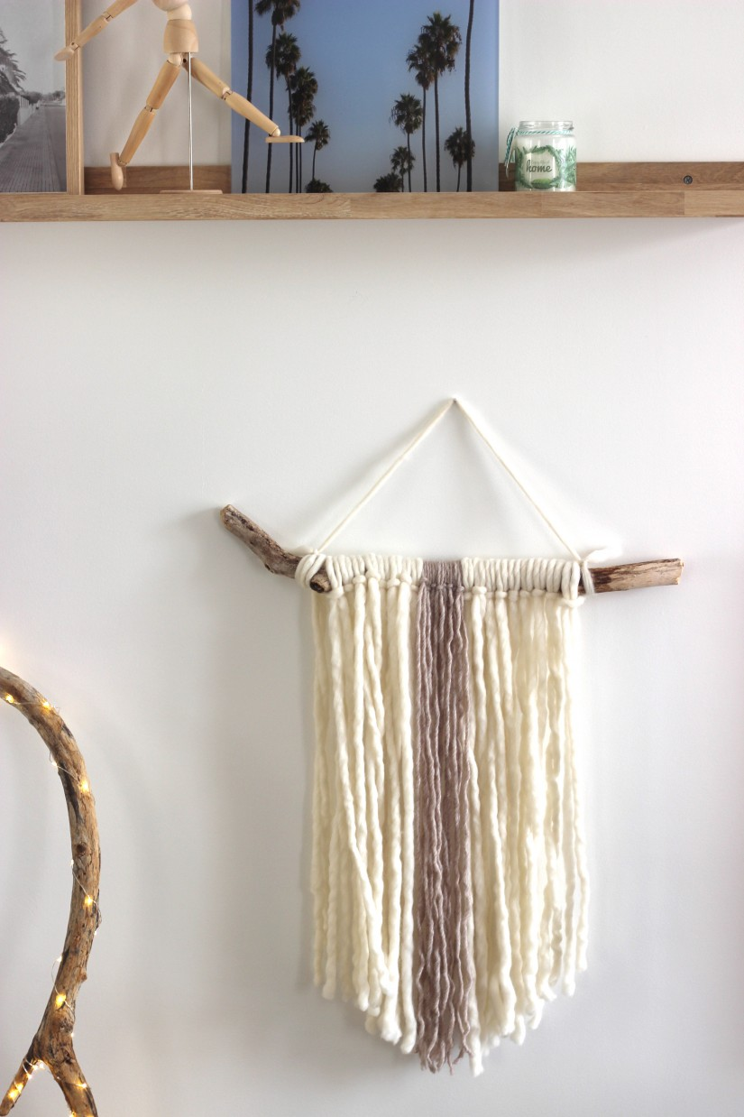 tissage diy deco