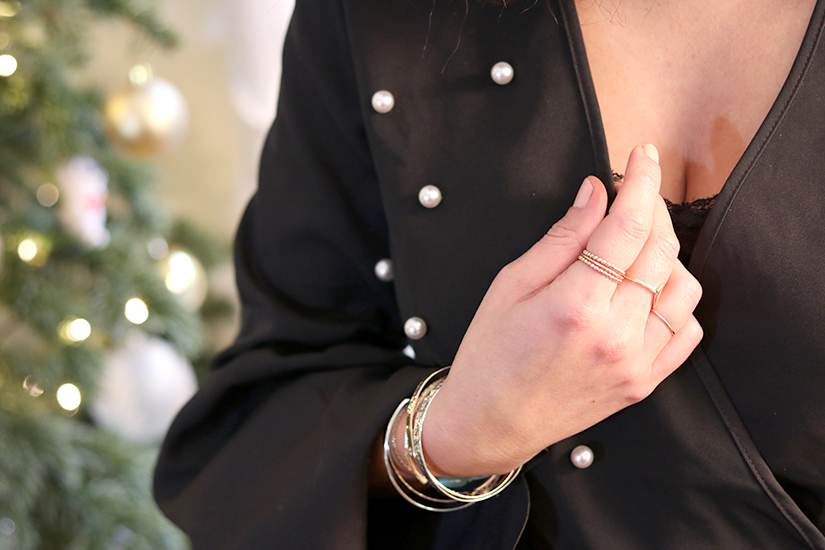 top cache coeur perles