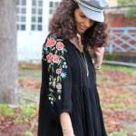 Look : la robe ethnique en hiver