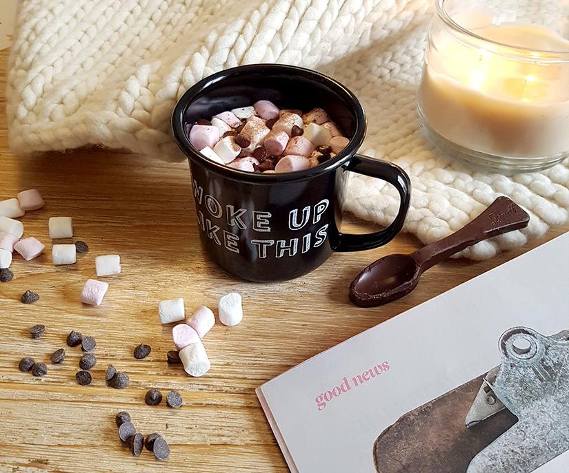 chocolat chaud guimauve recette