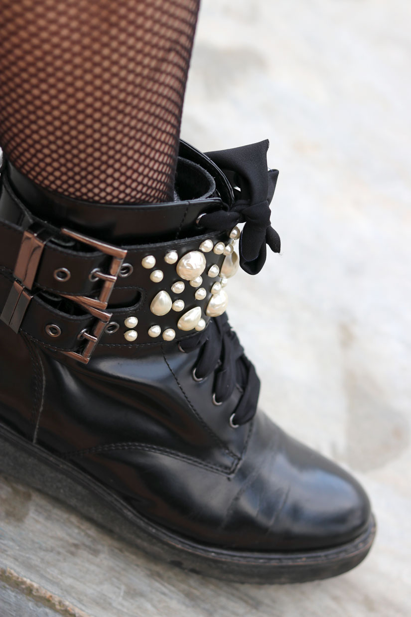 les boots perles dupe zara