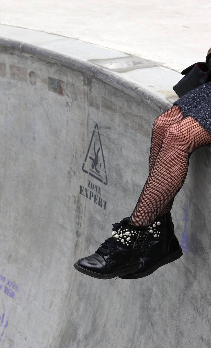 les boots perles