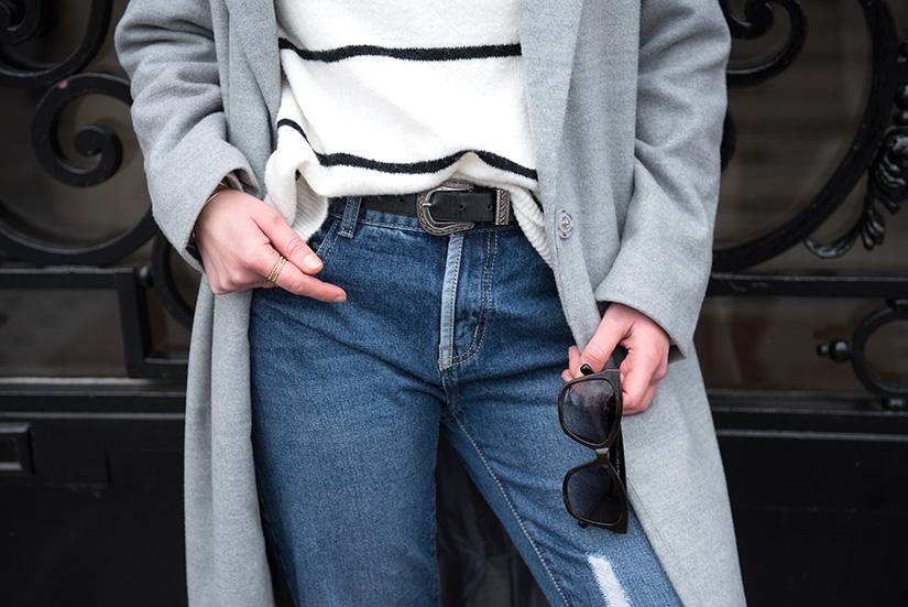 lunette et jean
