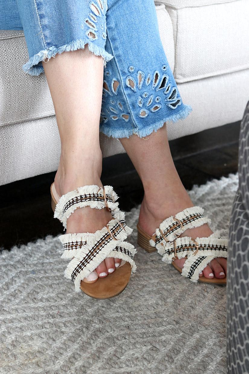 sandales franges ilovediy