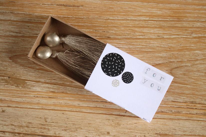 cadeau diy boite alumettes self packaging