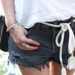 DIY : La ceinture corde et un look londonien