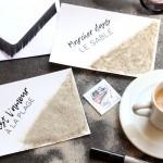 DIY : La carte postale sablée