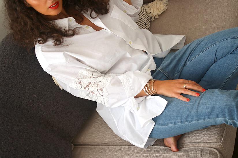 ilovediy la chemise blanche