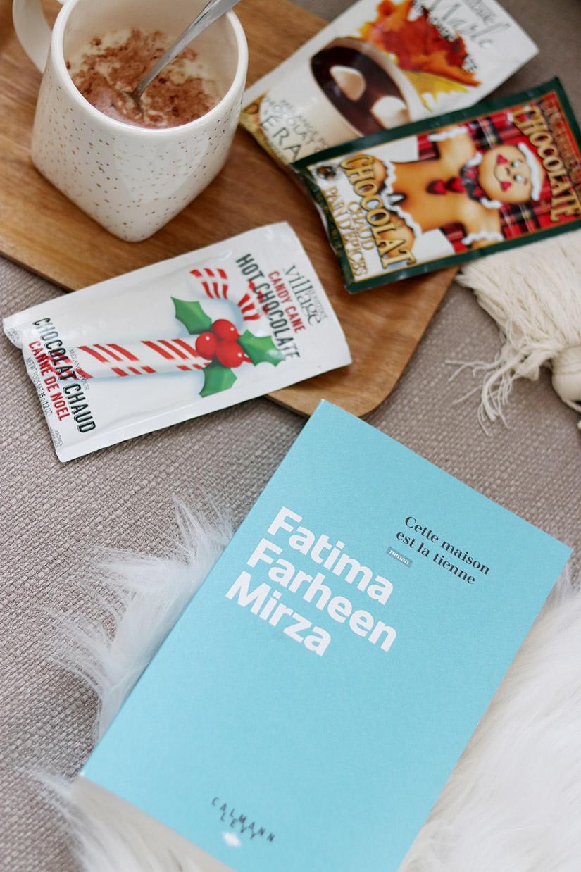un chocolat chaud et un bon livre