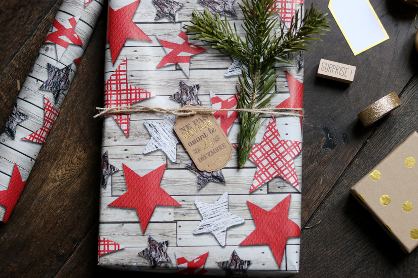 emballer ses cadeau