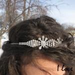 DIY un headband d'inspiration Shourouk!  DIY my shourouk inspired headband !