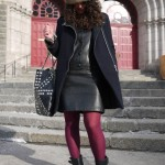 Comment porter une robe en cuir | How to wear a leather dress