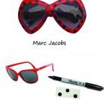 DIY Inspiration : Des lunettes à pois | Polka dot sunglasses
