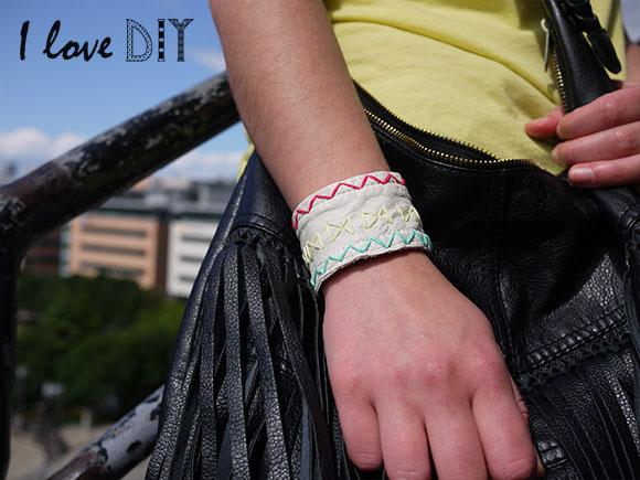 ILOVE DIY zoom bracelet