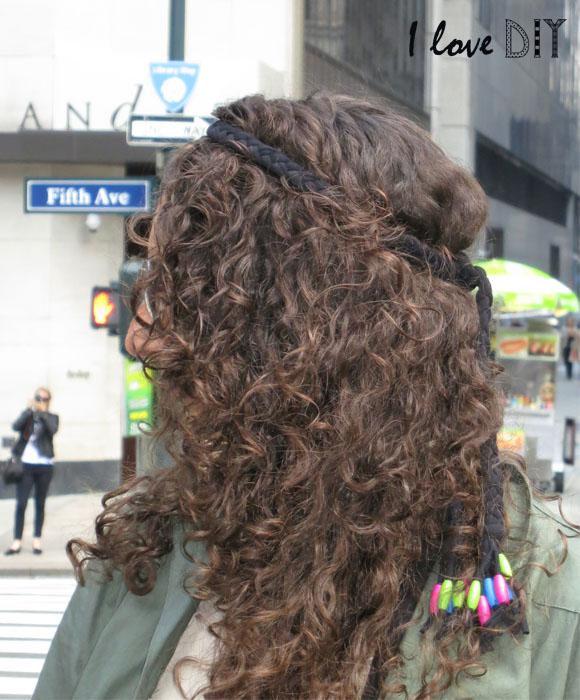 headband tresse