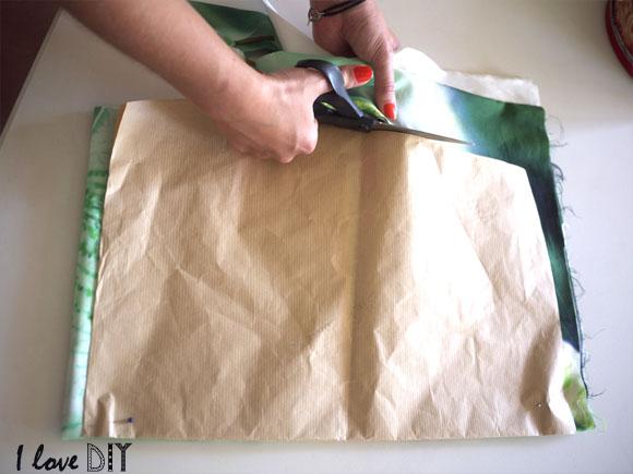 5 découper le tissu