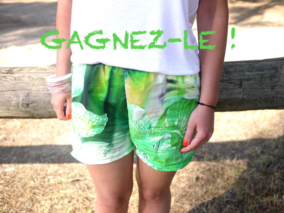 gagnez le short hawaien diy