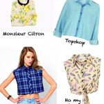 DIY INSPIRATION: la chemise crop | Crop shirt