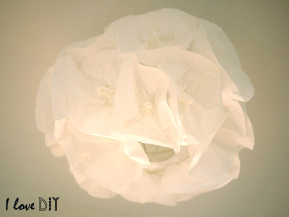 suspension fleur I LOVE DIY