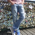 DIY : On répare le jeans de son homme | Let's repair our man's jeans