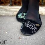DIY : Les slippers Charlotte's web à ma façon | Charlotte's web slippers my way