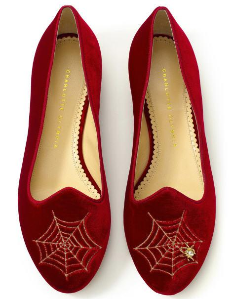 charlotte-olympia-pre-fall-2012-charlottes-web-smoking-slipper