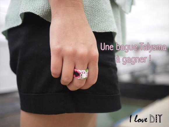 une bague talysma a gagner