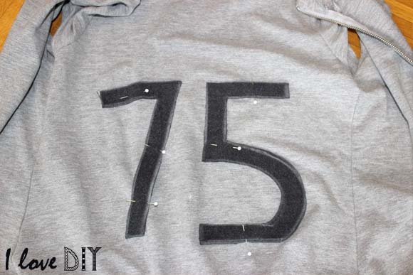 épingler les numéros dans le dos ilovedoityourself
