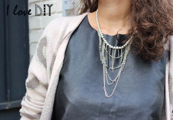 collier DIY ilovedoityourself