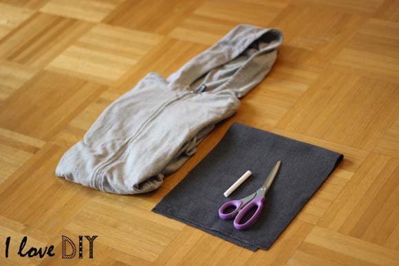 materiel pour customiser un sweat a capuche avec un numéro dans le dos ilovedoityourself