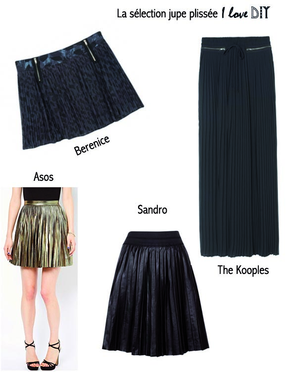 selection jupe plisse trend alert i love do ityourself