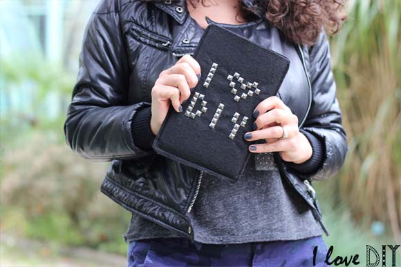 une pochette pour tablette tres rock ilovedoityourself