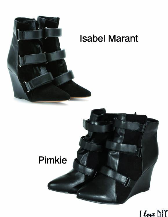 Le modele scarlette d Isabel Marant a son ersatz chez Pimkie