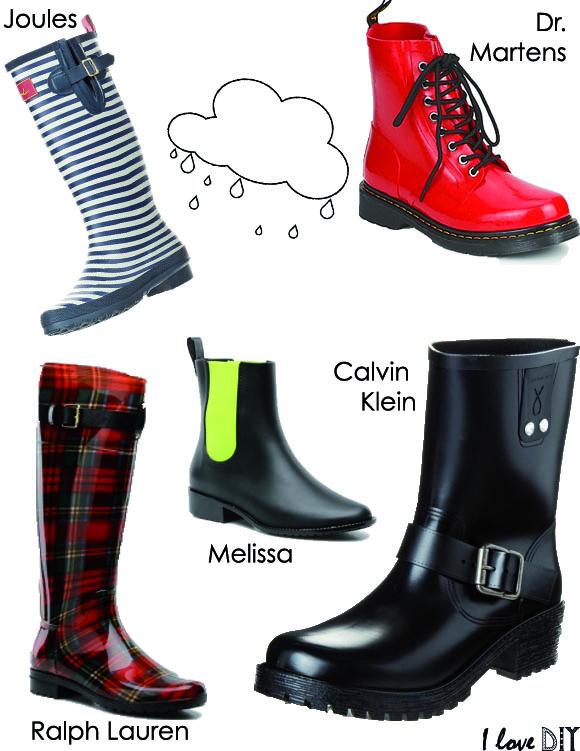 Selection bottes de pluie