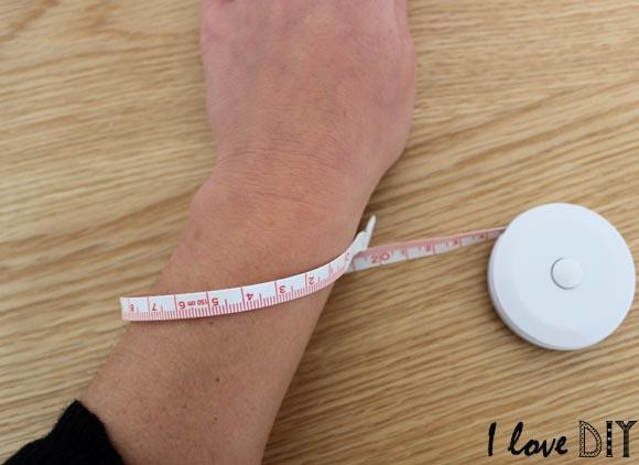 prenez la mesure de votre poignet