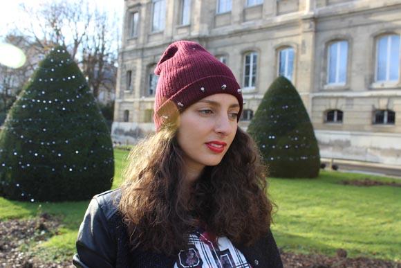 Bonnet cloute DIY rouge a lèvres sisley