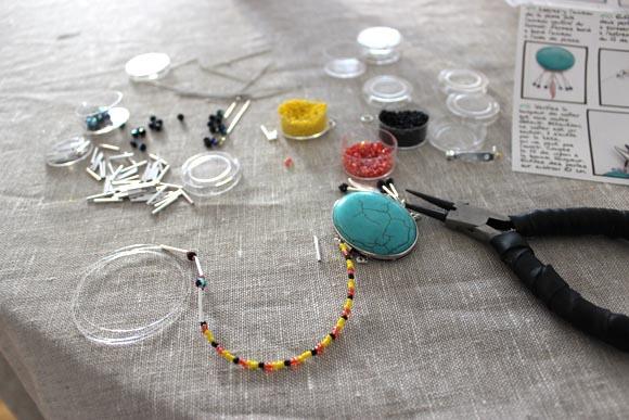 le bijoux prends forme