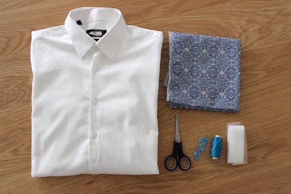customisez une chemise d'homme pour la saint valentin ilovediy