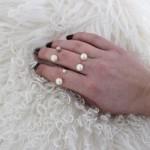 DIY : Bague double perles | Double pearl ring
