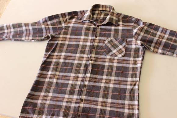 faire un sac avec une vieille chemise