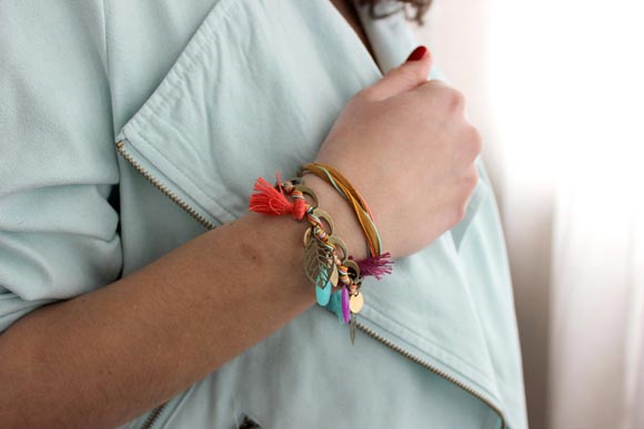 fifijolipois X ilovediy version bracelet
