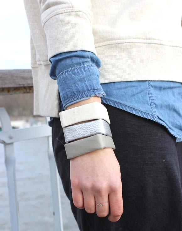 des bracelets cubes en plastique recyclé2