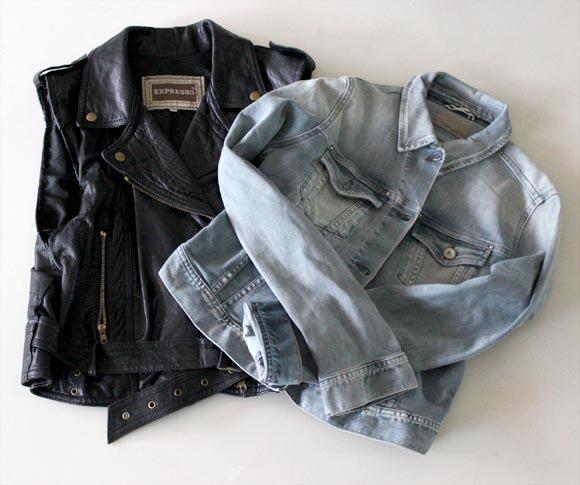 relookez la petite veste en jeans