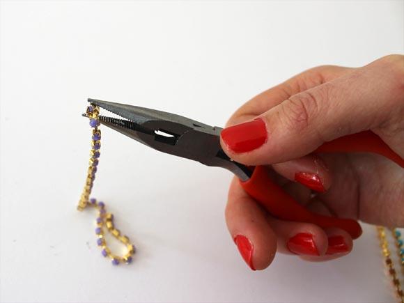 DIY un collier chaine pastel ilovedoityourself4