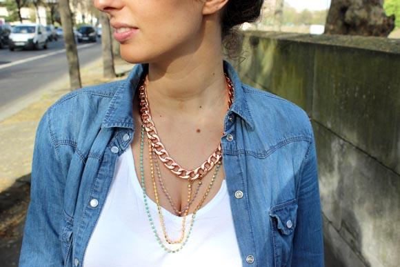 DIY un collier chaine pastel ilovedoityourself6