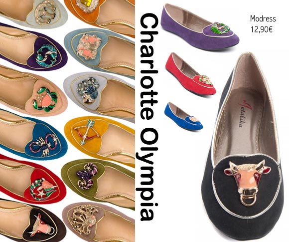bon plan ilovediy les slippers zodiac charlotte olympia