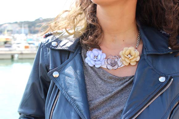 DIY Collier a fleurs ilovediy