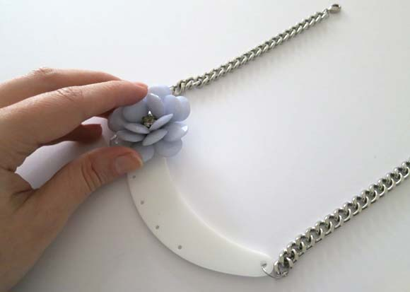 creer un collier fleurs ilovedoityourself5