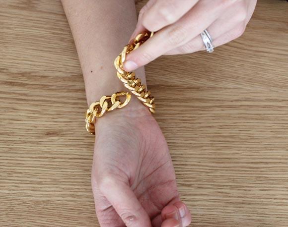 diy un bracelet pompom